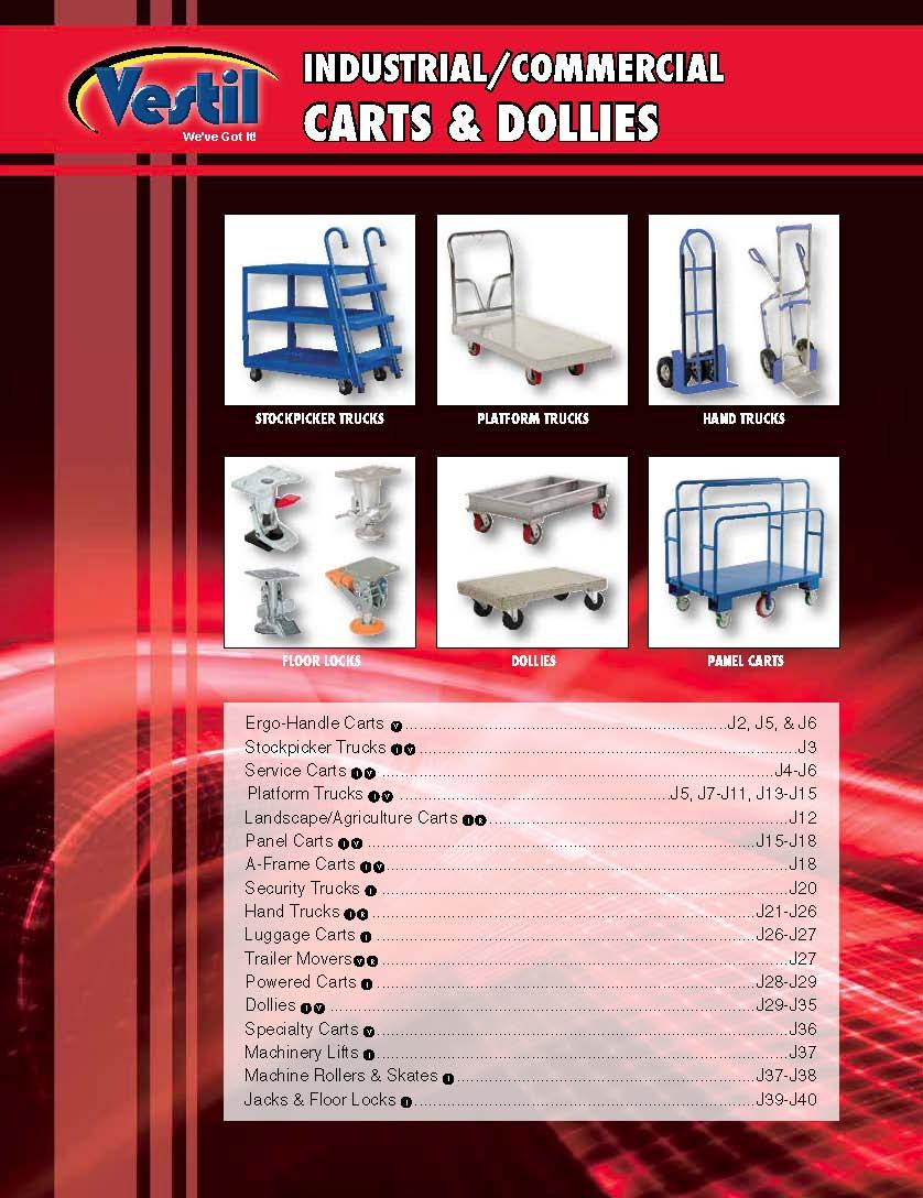 Industrial Carts & Dollies Catalog   HWI Equipment Inc